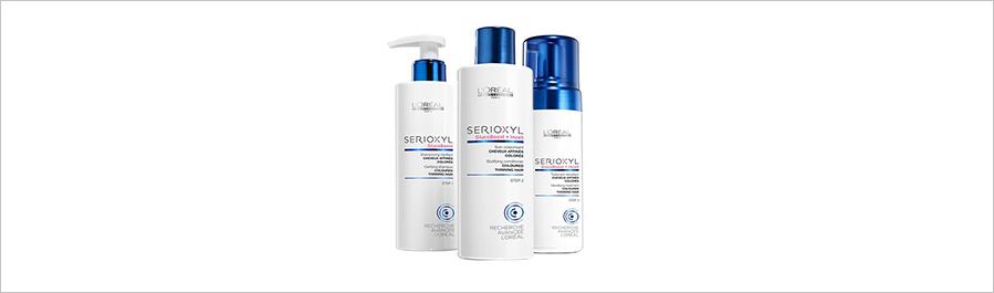 Serioxyl - для истонченных волос