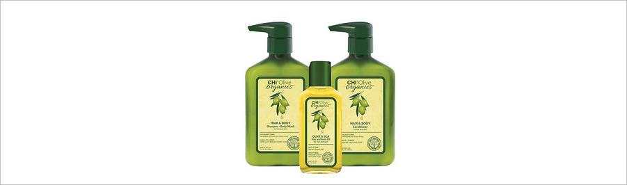CHI OLIVE ORGANICS - уход с оливковым маслом